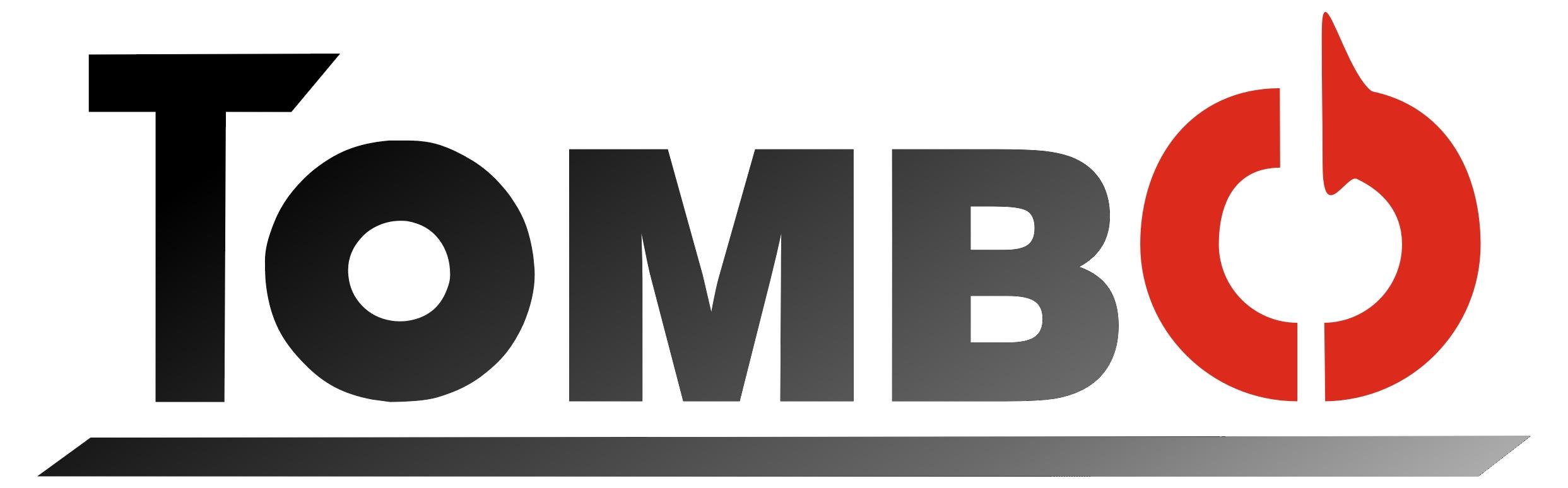 Tombo-Logo Verlauf